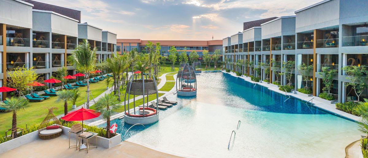 AVANI Hua Hin resort pool view