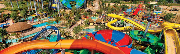 Rides at Vana Nava water park