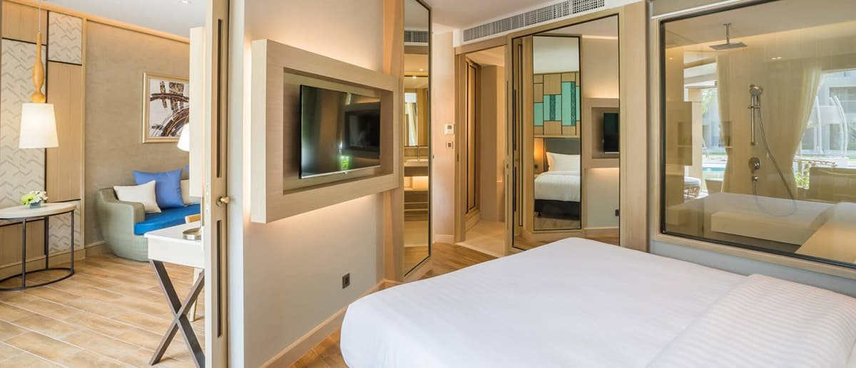 AVANI Hua Hin Garden View Suite interior