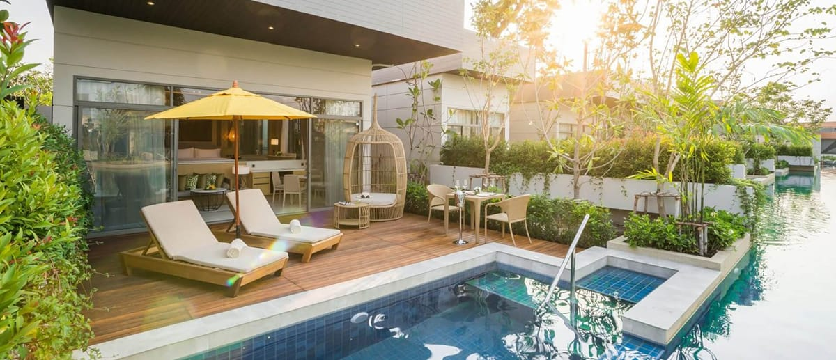 AVANI Hua Hin Lagoon Pool Villa sundeck