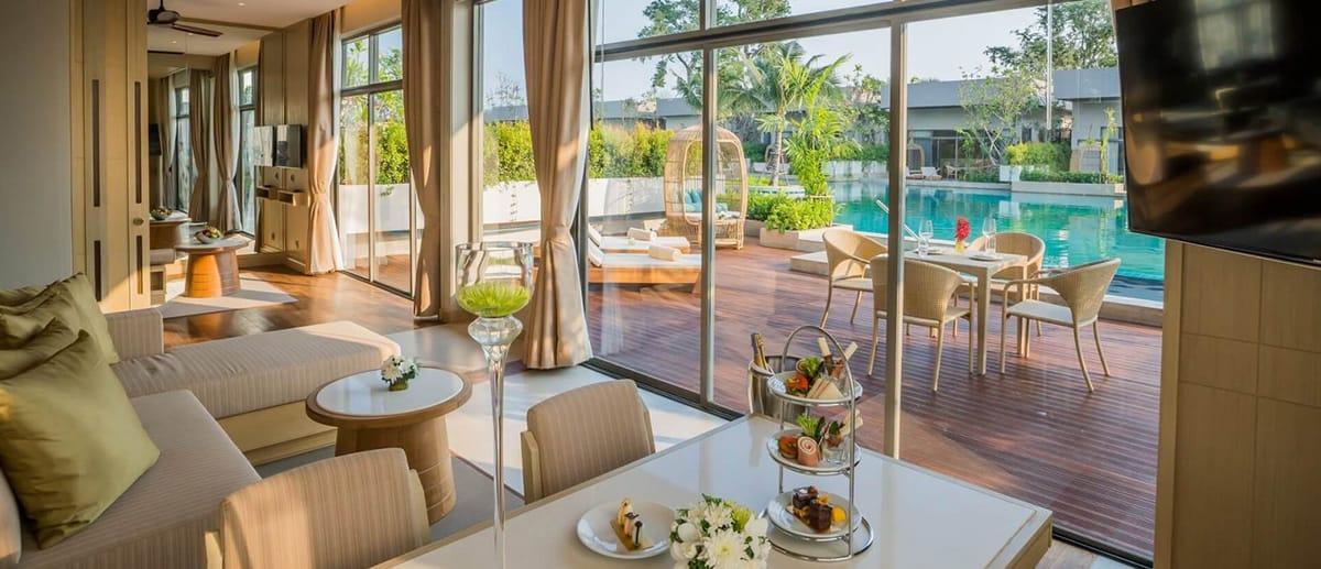 AVANI Hua Hin Two Bedroom Lagoon Pool Villa patio