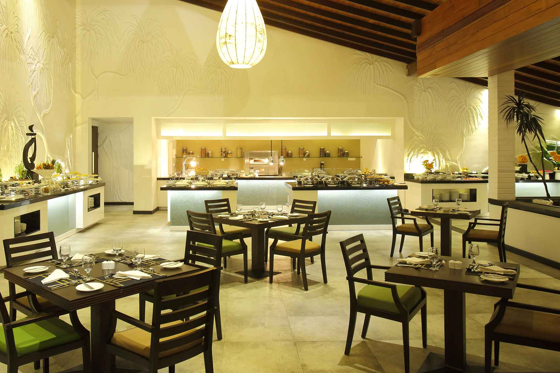 Interior of Mangroves restaurant