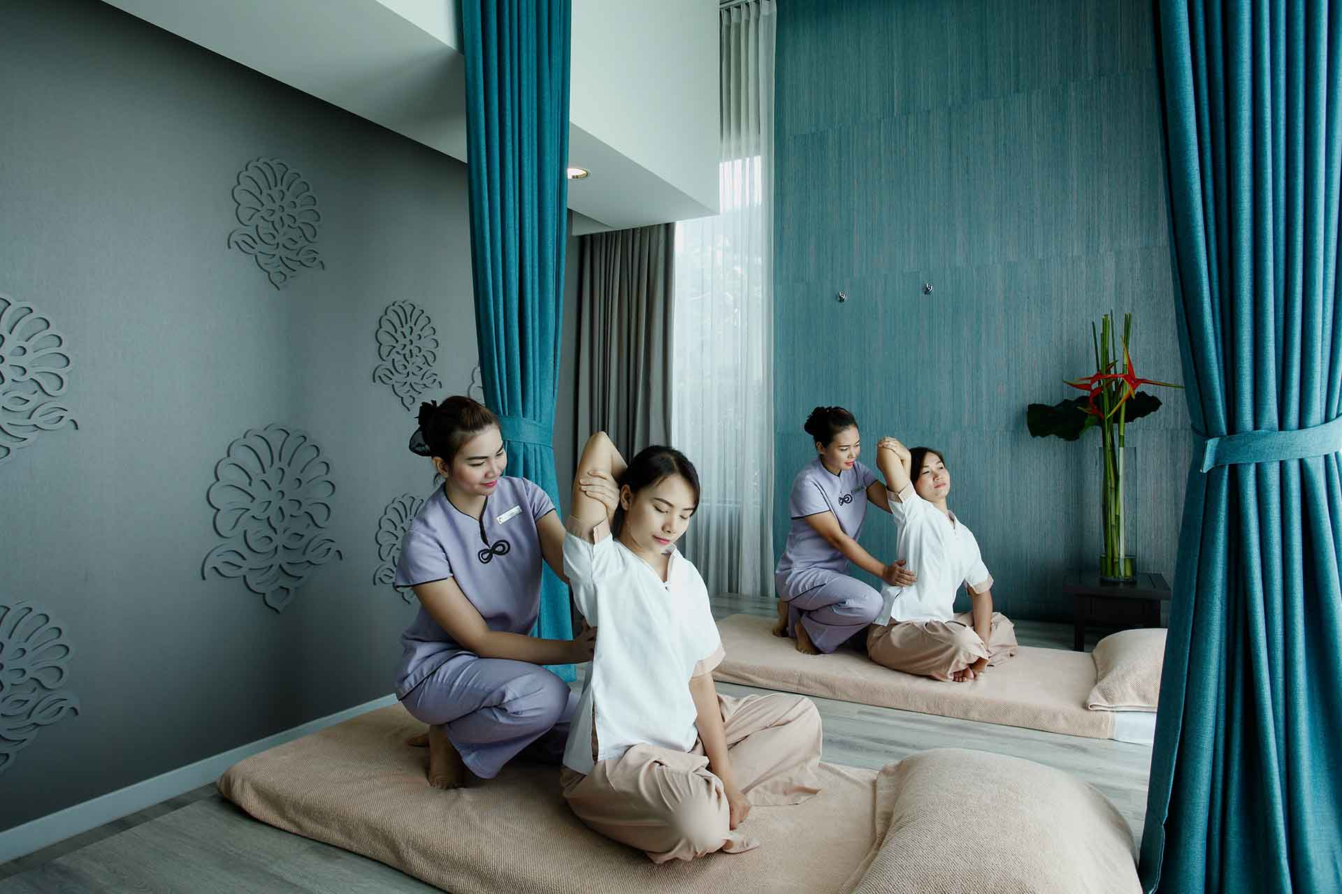 Spa therapists at AVANI Khon Kaen Hotel