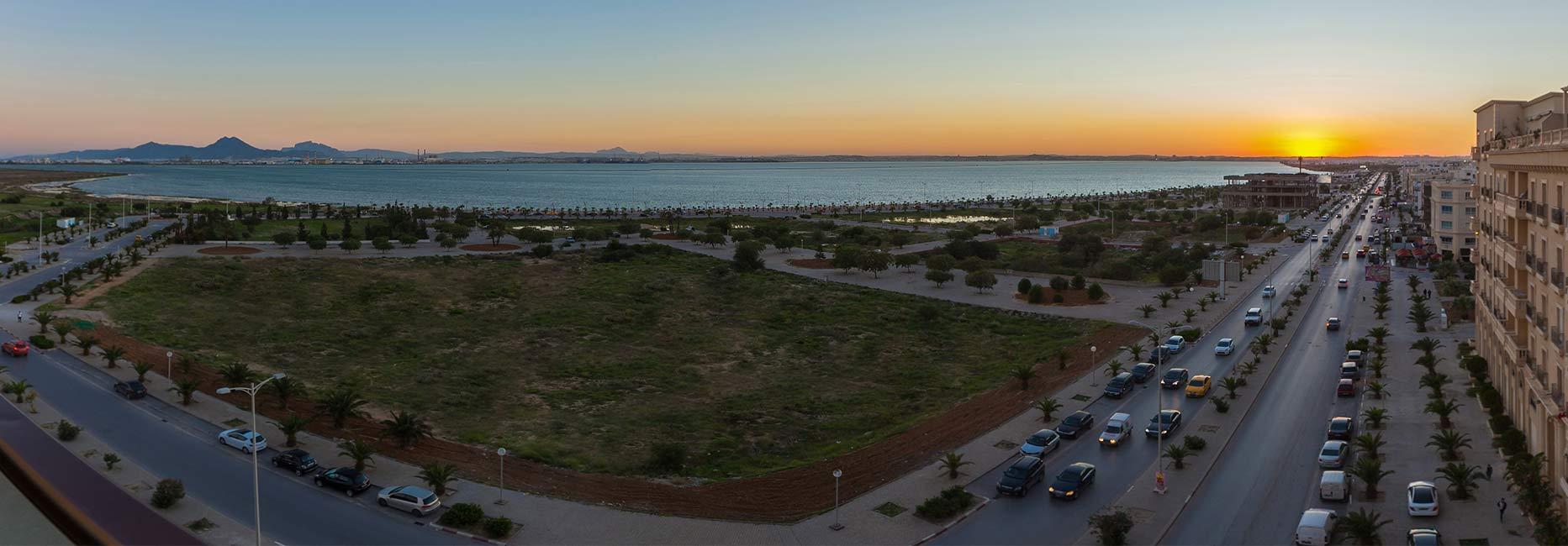 View at  Avani Les Berges Du Lac Tunis Suites