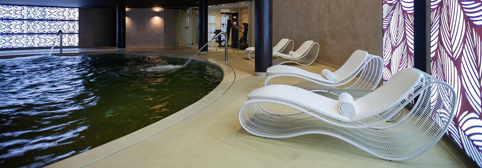 Indoor Pool at Avani Les Berges du Lac Tunis Suites