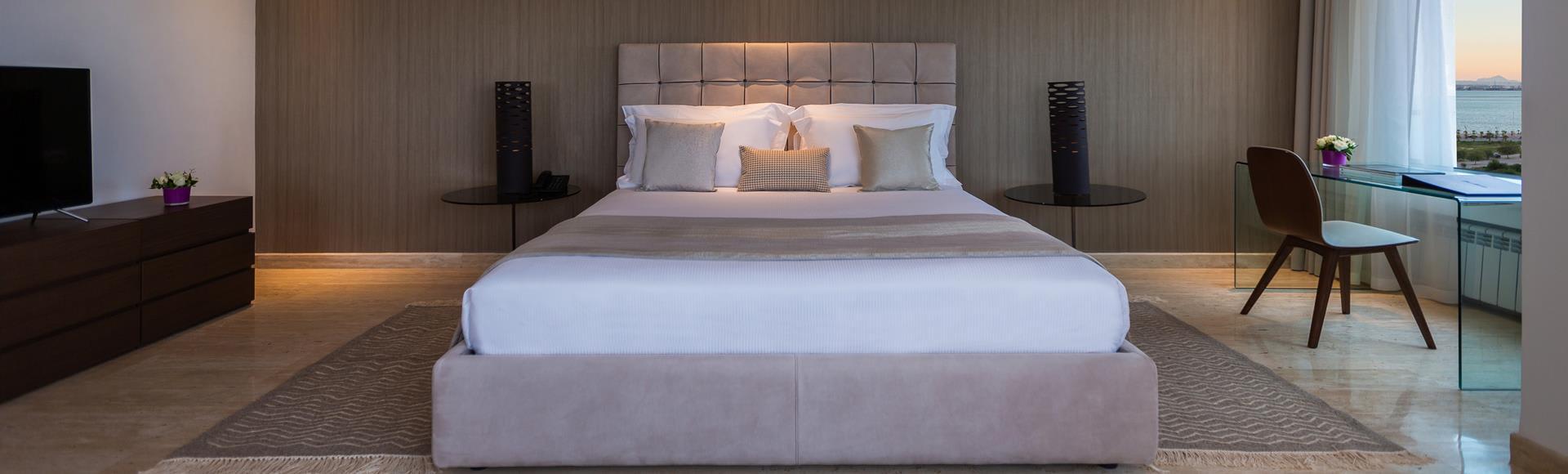 Avani Four Bedroom Lake View Loft Suite at  Avani Les Berges Du Lac Tunis Suites