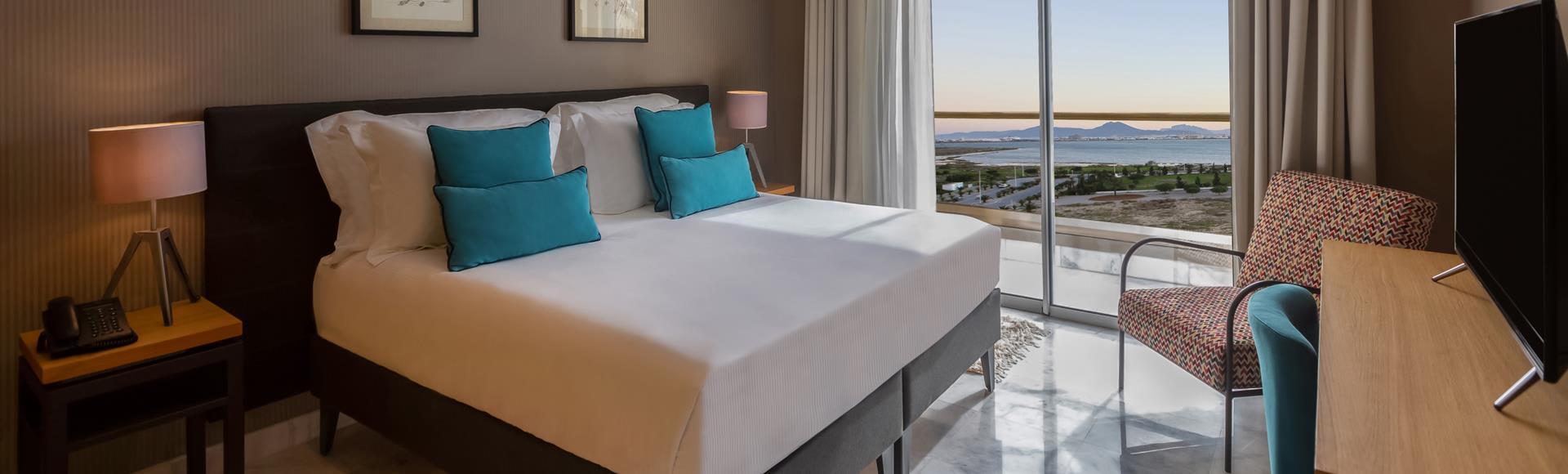 Avani One Bedroom Lake View Suite at  Avani Les Berges Du Lac Tunis Suites