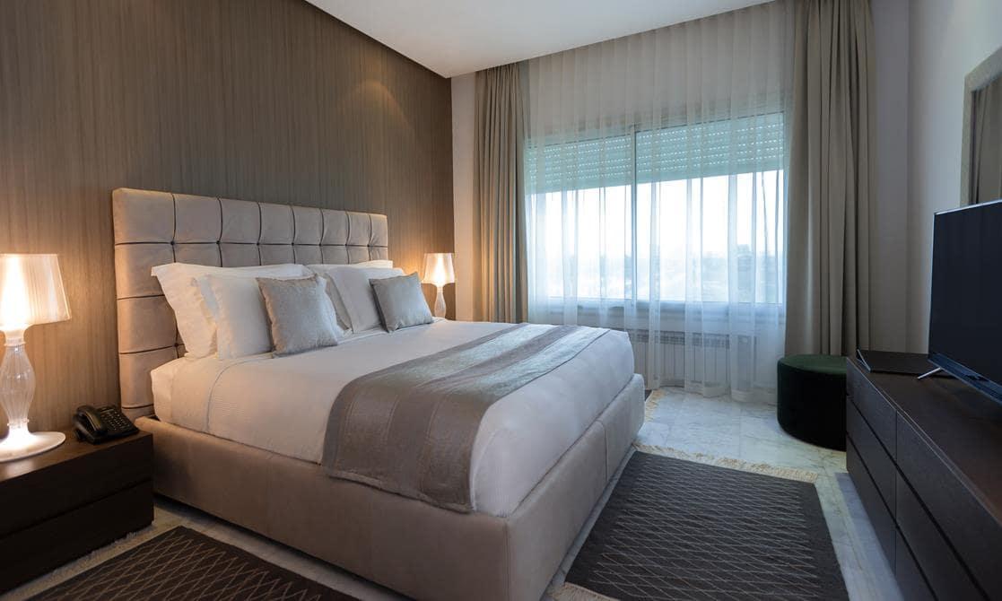 Avani Three Bedroom Lake View Suite at  Avani Les Berges Du Lac Tunis Suites