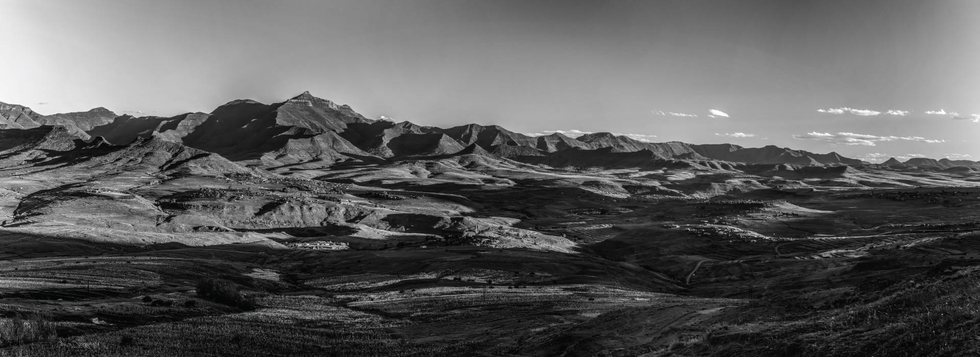 Lesotho Johannesburg mountain range view