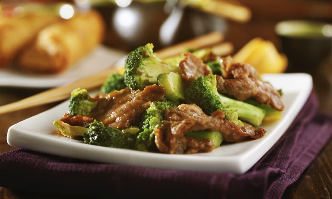 A dish at AVANI Lesotho hotel Ying Tao grill