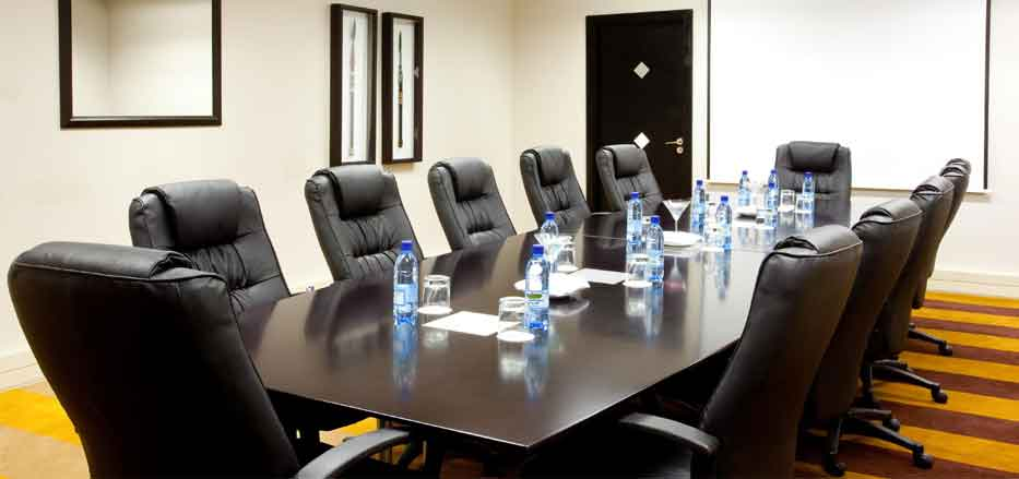 Board room set up of a Meeting Venue in Lesotho
