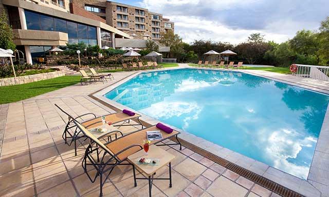 AVANI Lesotho Hotel pool area