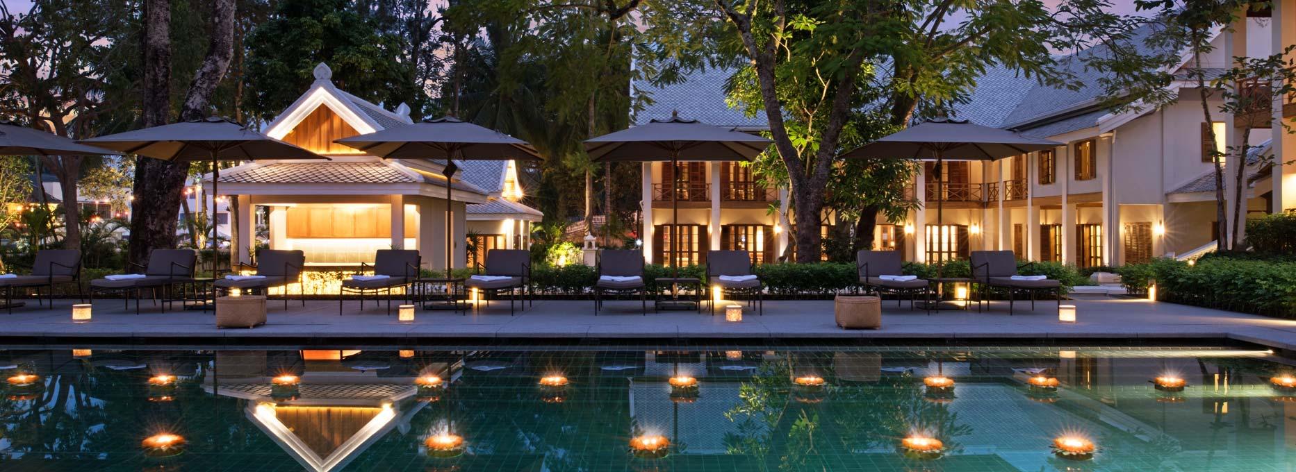 AVANI Luang Prabang - Pool at Night