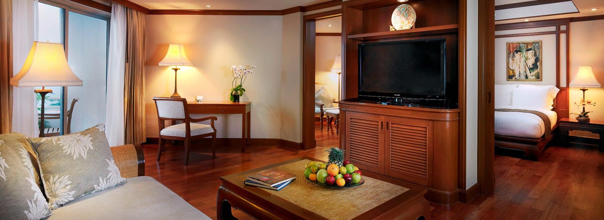 AVANI Pattaya Resort & Spa - AVANI One Bedroom Suite - Living Room