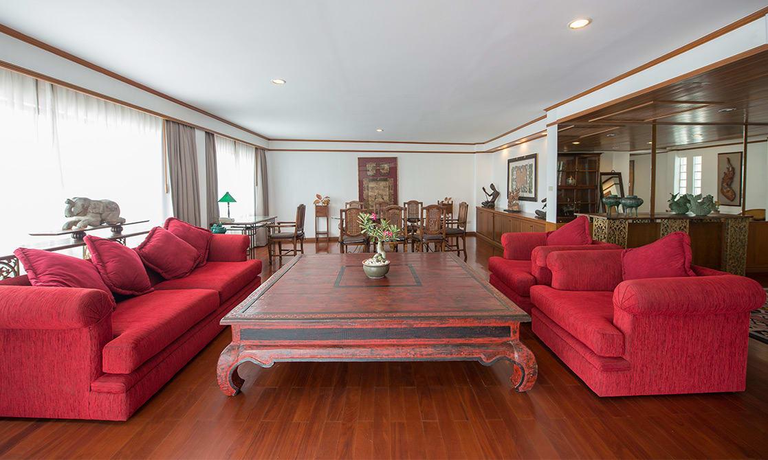 AVANI Pattaya Resort & Spa - AVANI Presidential Suite - Living Room