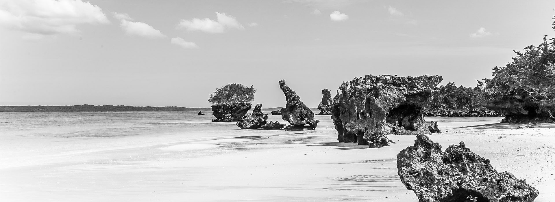 Boulders on Pemba Beach