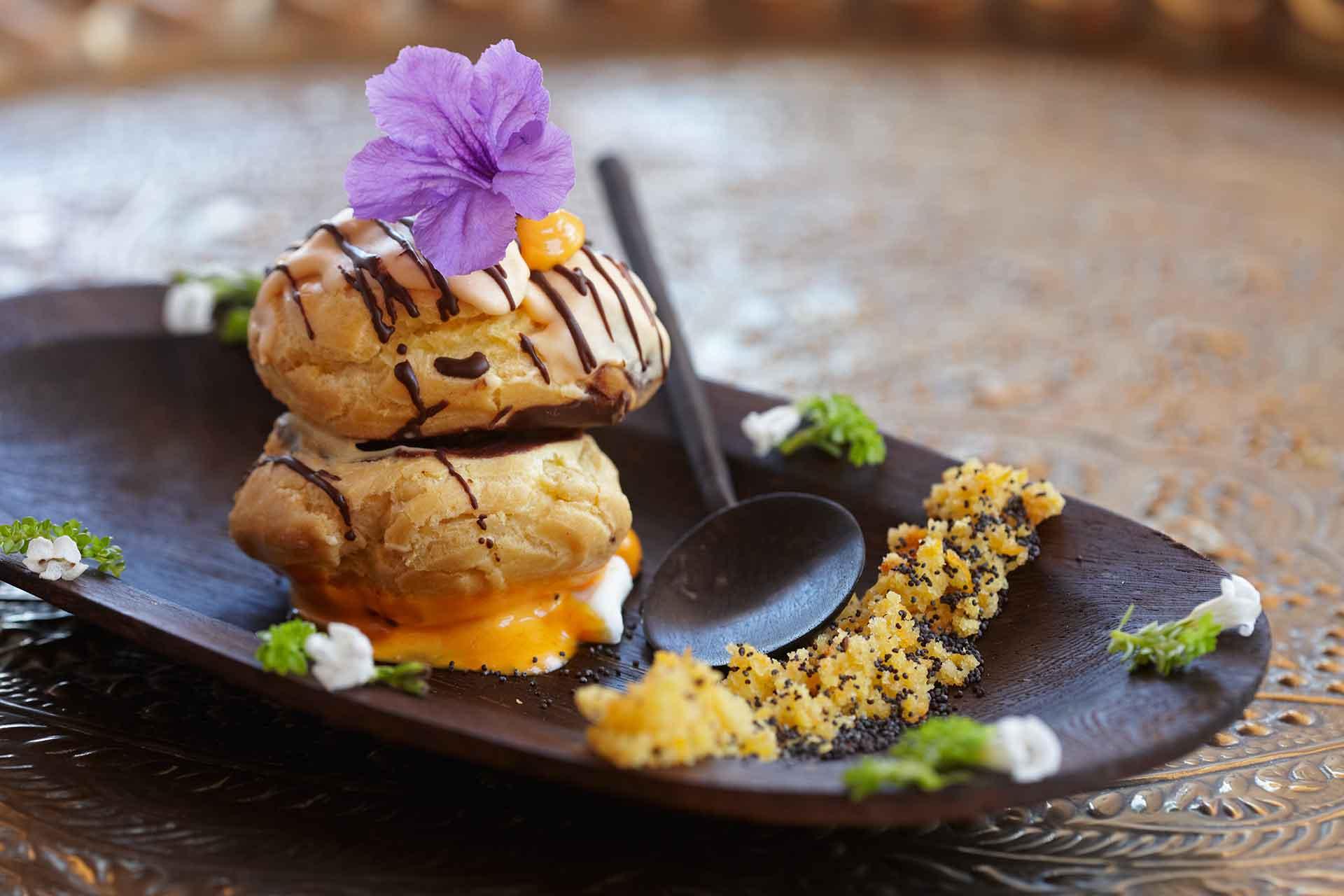 Cube Nacal Dessert dish at AVANI Pemba Beach