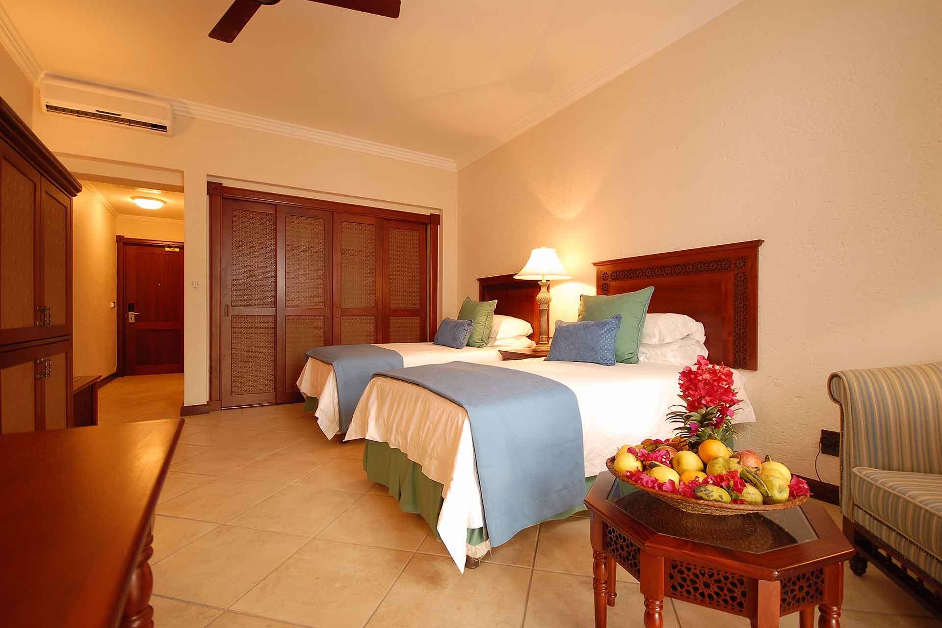 Interior of Garden view room of AVANI Pemba