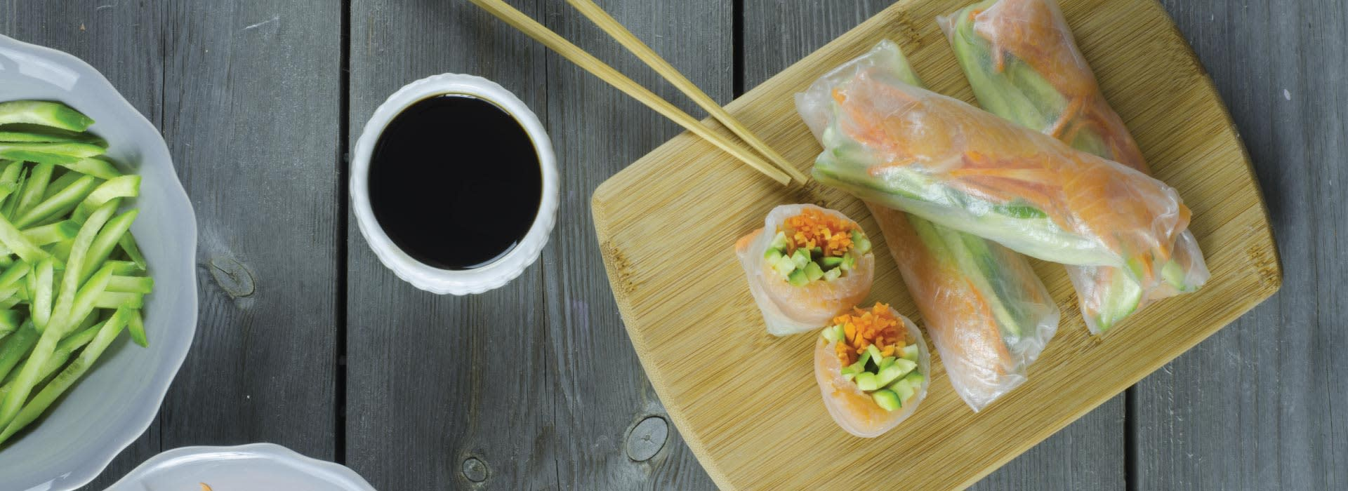 Sushi is among Vietnam Dining options