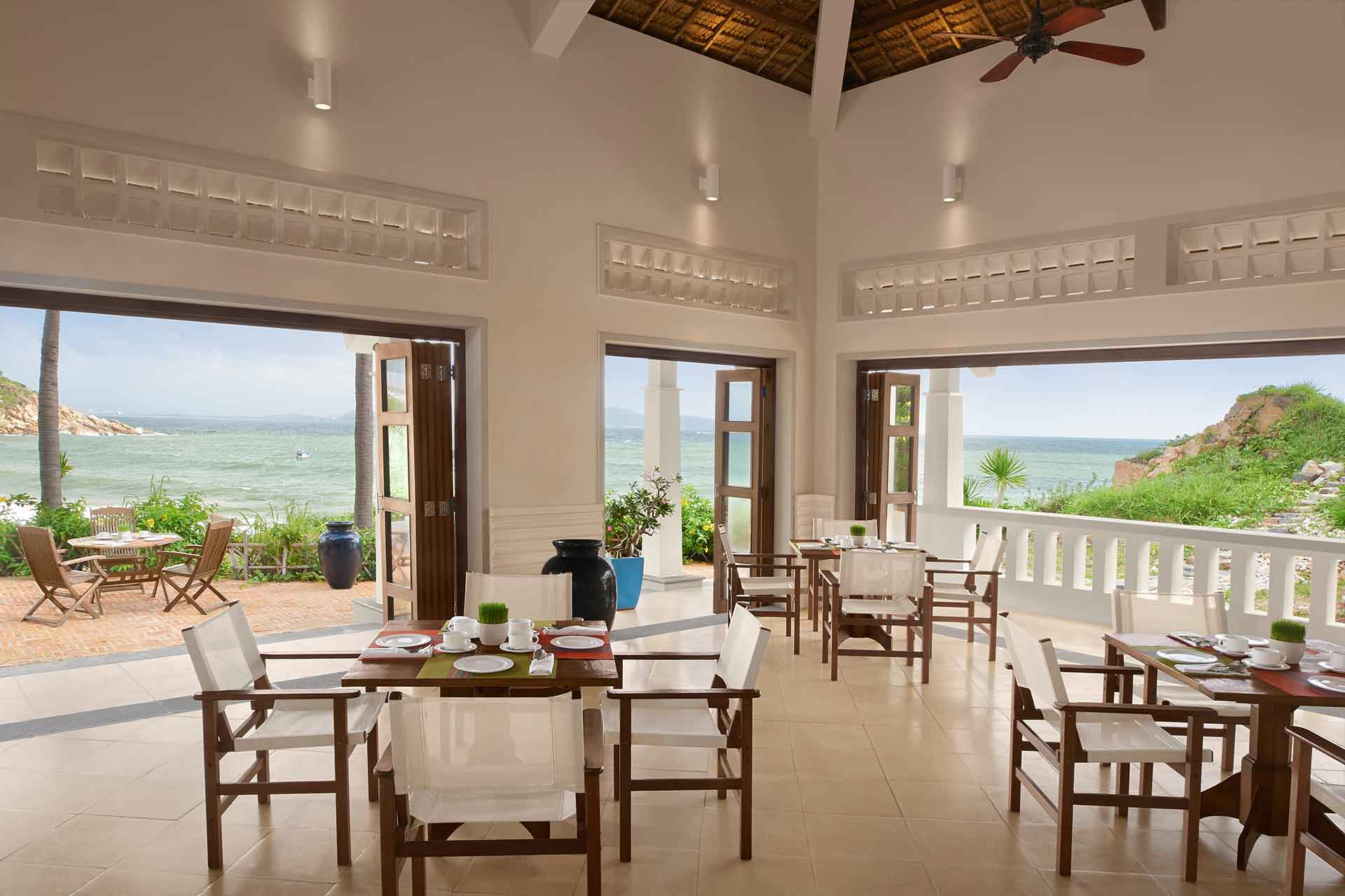Dining area of a Resort in Quy Nhon by AVANI