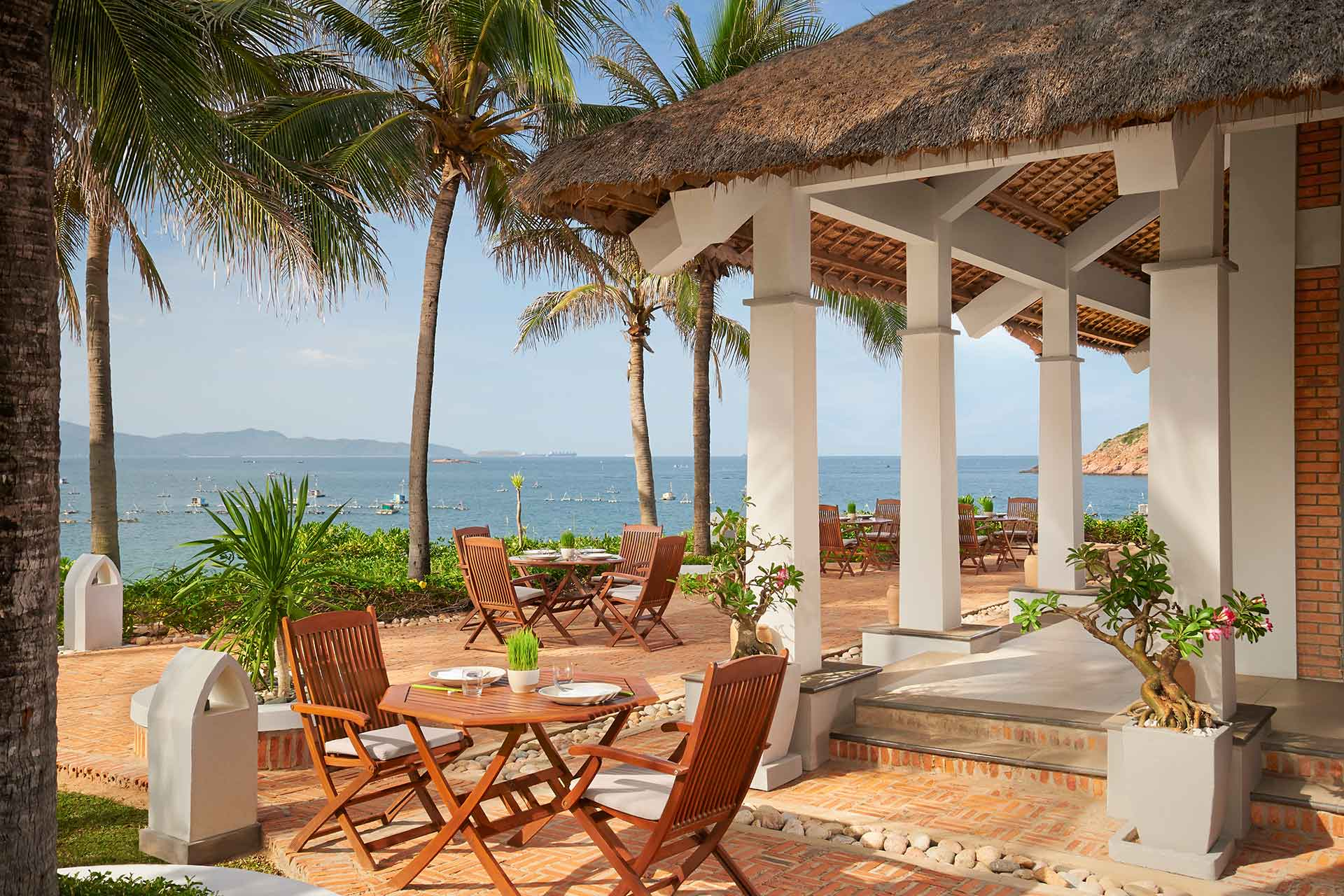 Sea view restaurant at AVANI resort in Quy Nhon