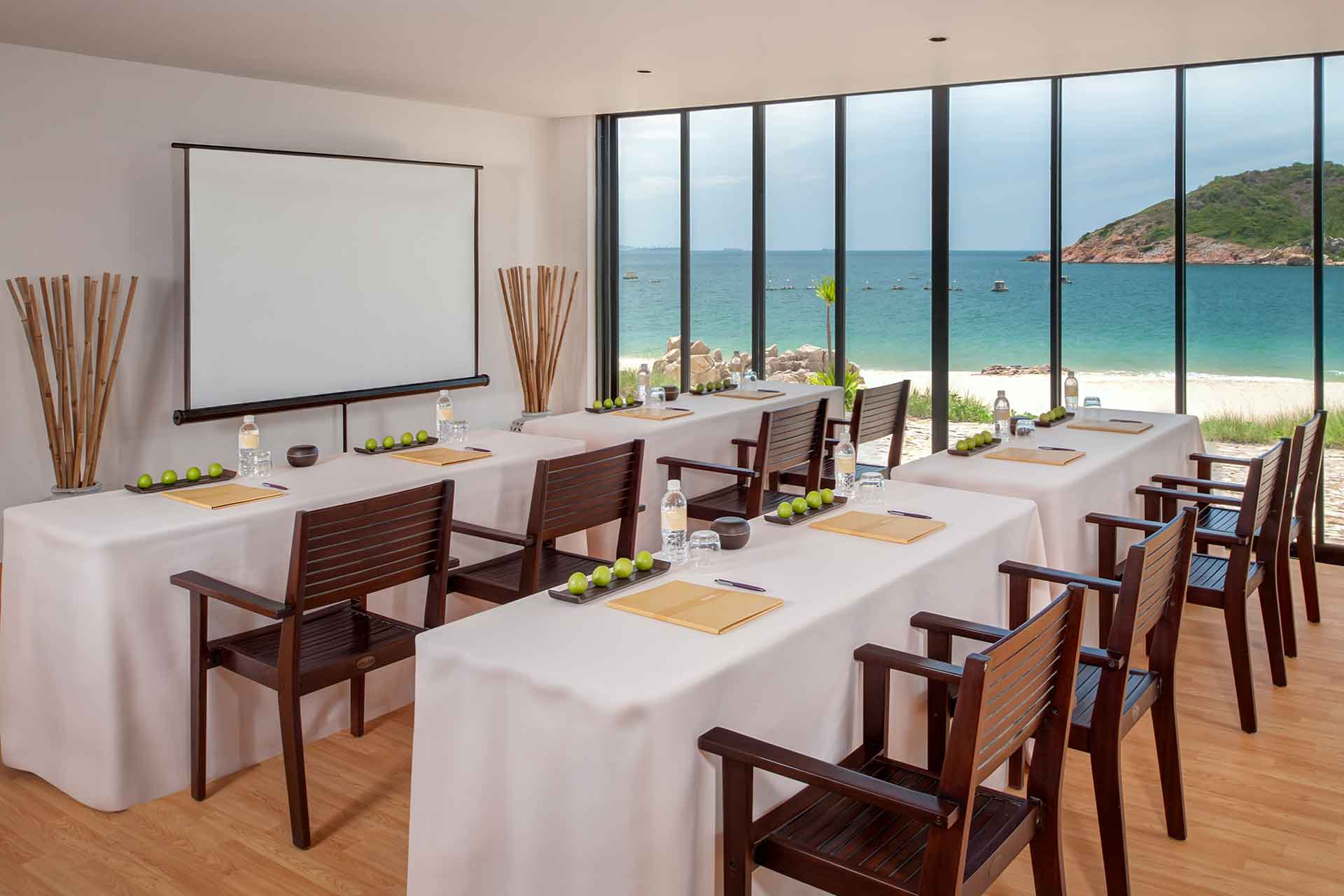 A meeting room at a Resort in Quy Nhon