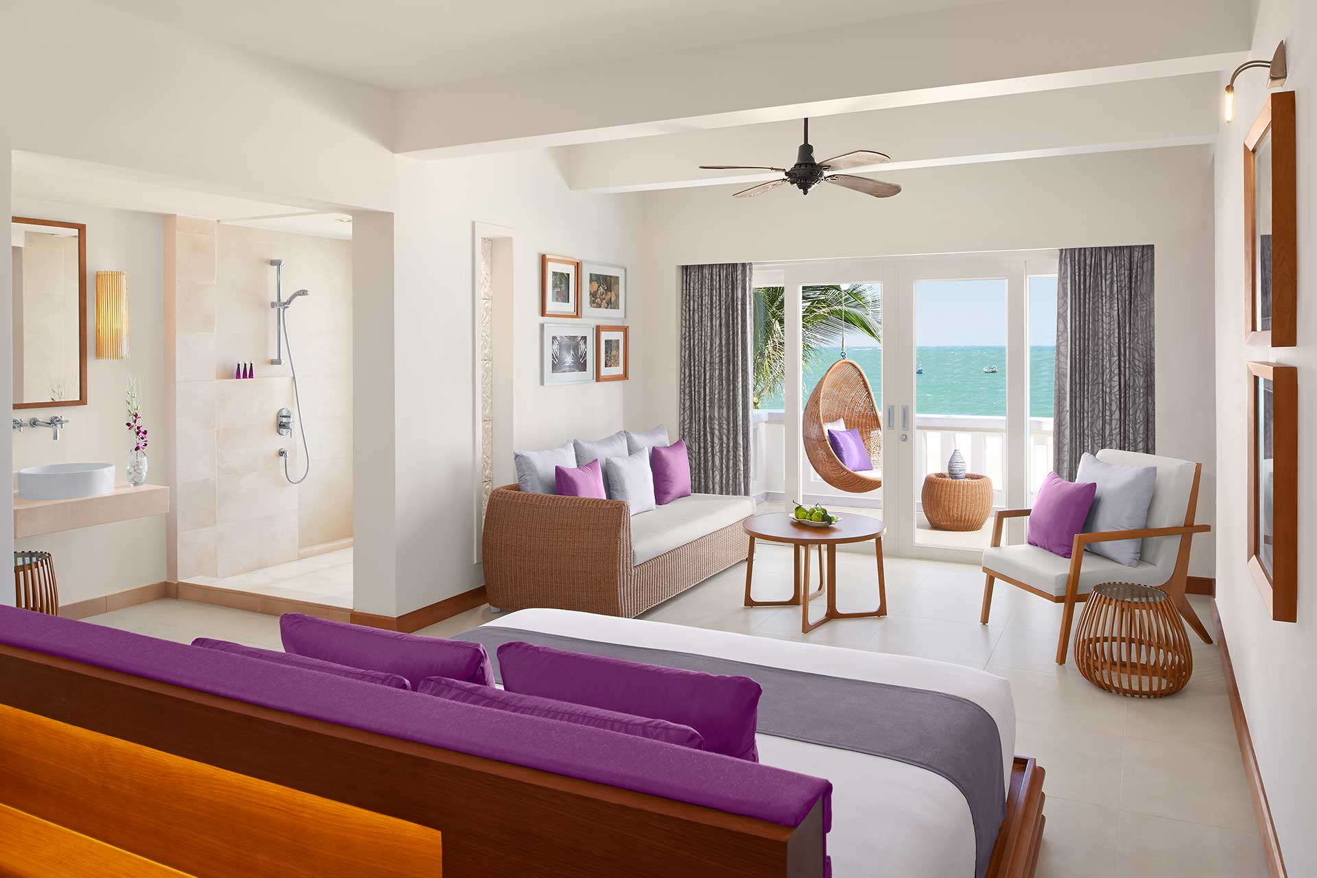 Interior of a junior ocean suite