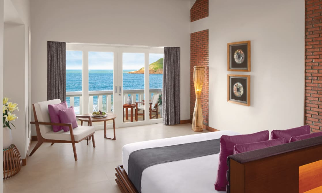 A sea view room at a Resort in Quy Nhon
