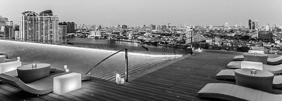 Riverside Hotel Bangkok rooftop pool