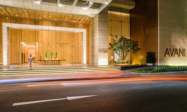 Main entrance of AVANI Riverside Bangkok