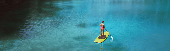 Stand Up Paddle Board at AVANI+ Samui