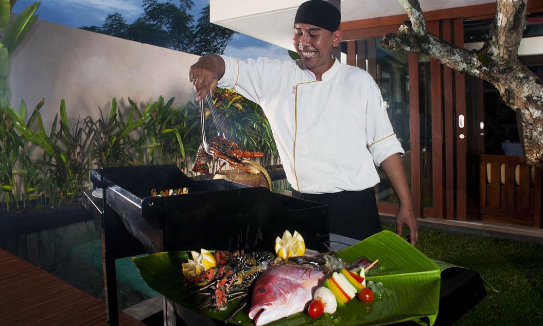 In-villa Dining at Avani Seminyak Bali