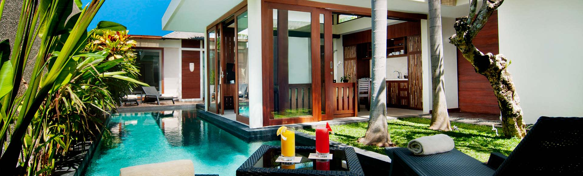 Two Bedroom Pool Villa at Avani Seminyak Bali Resort