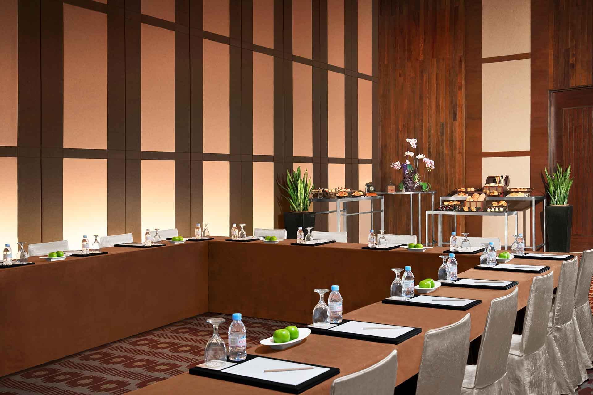 Interior of a meeting room at AVANI Sepang