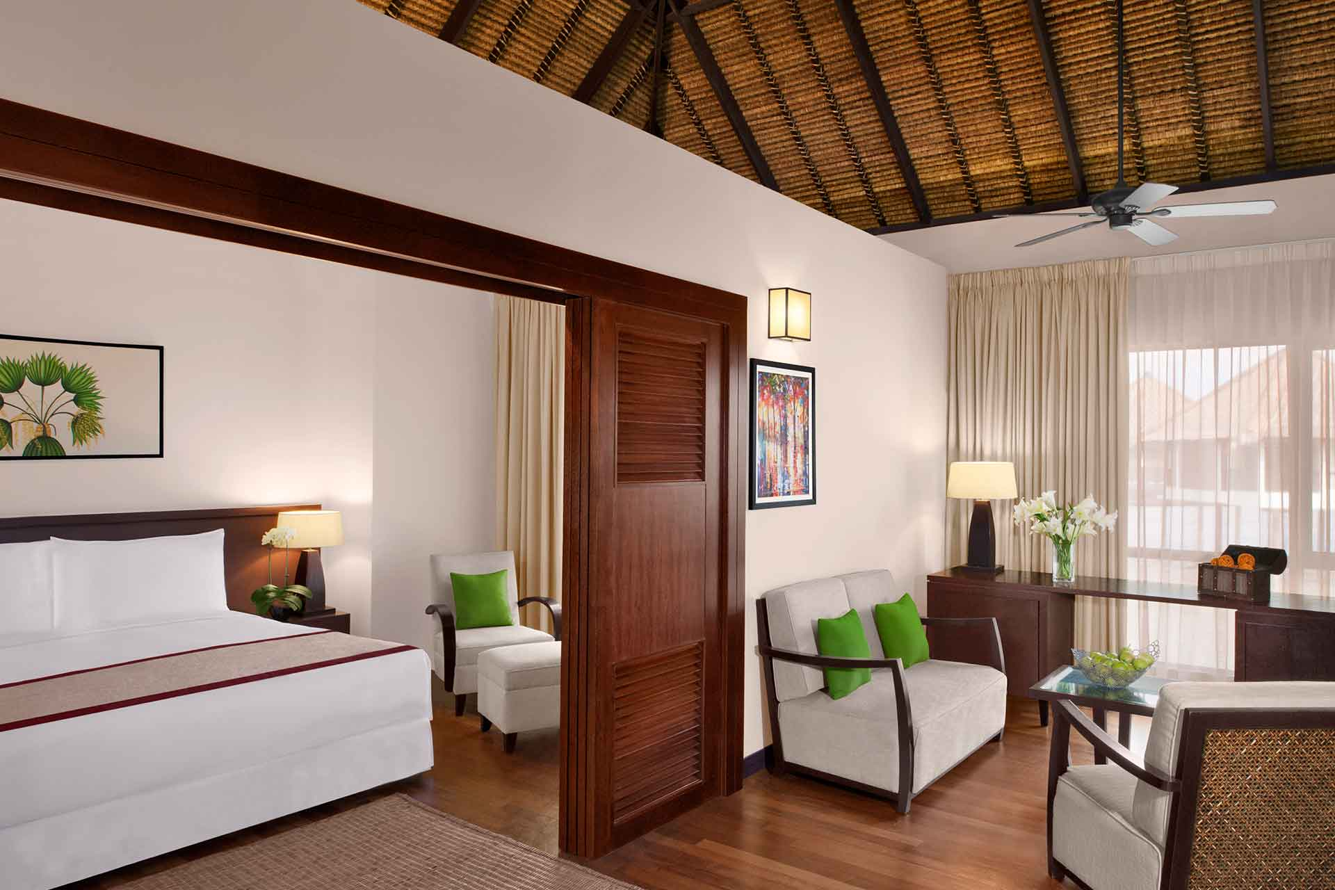 Interior of Family villa bedroom at AVANI Sepang