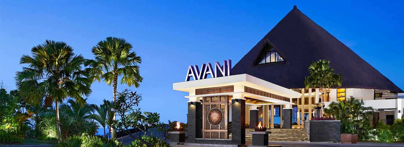 Entrance of AVANI Sepang Resort