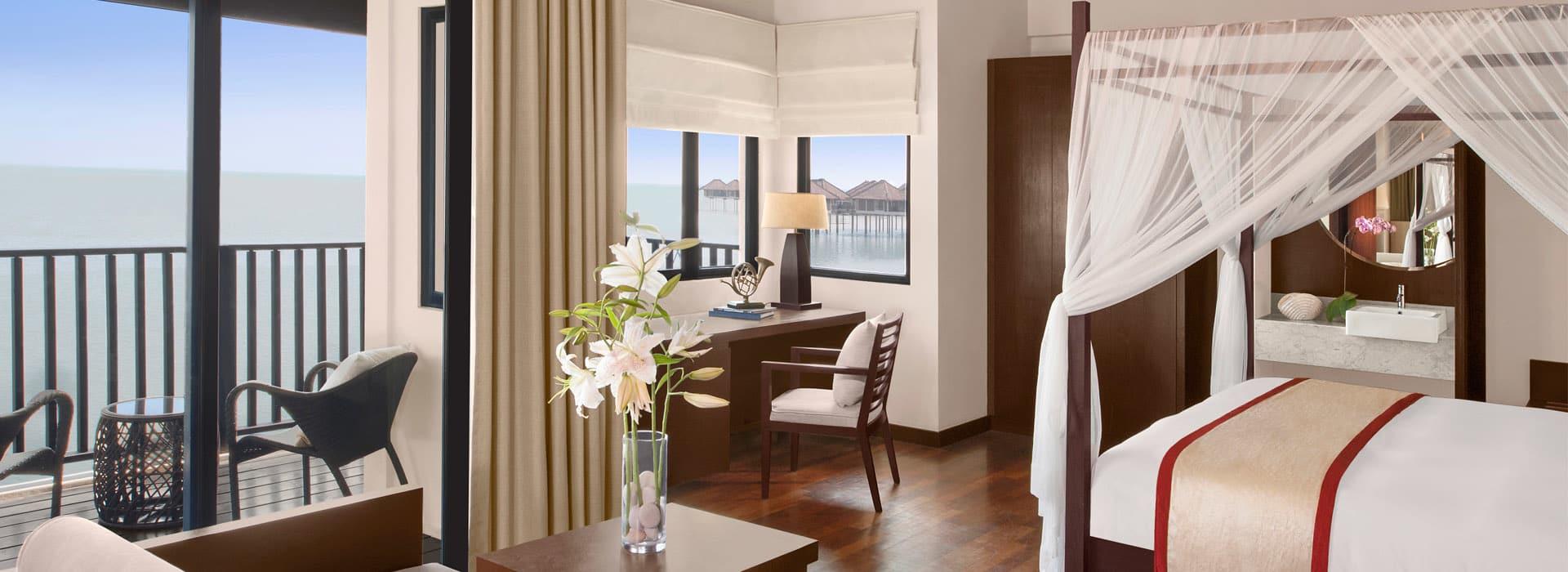Sea view room at one of the Sepang Hotels Malaysia