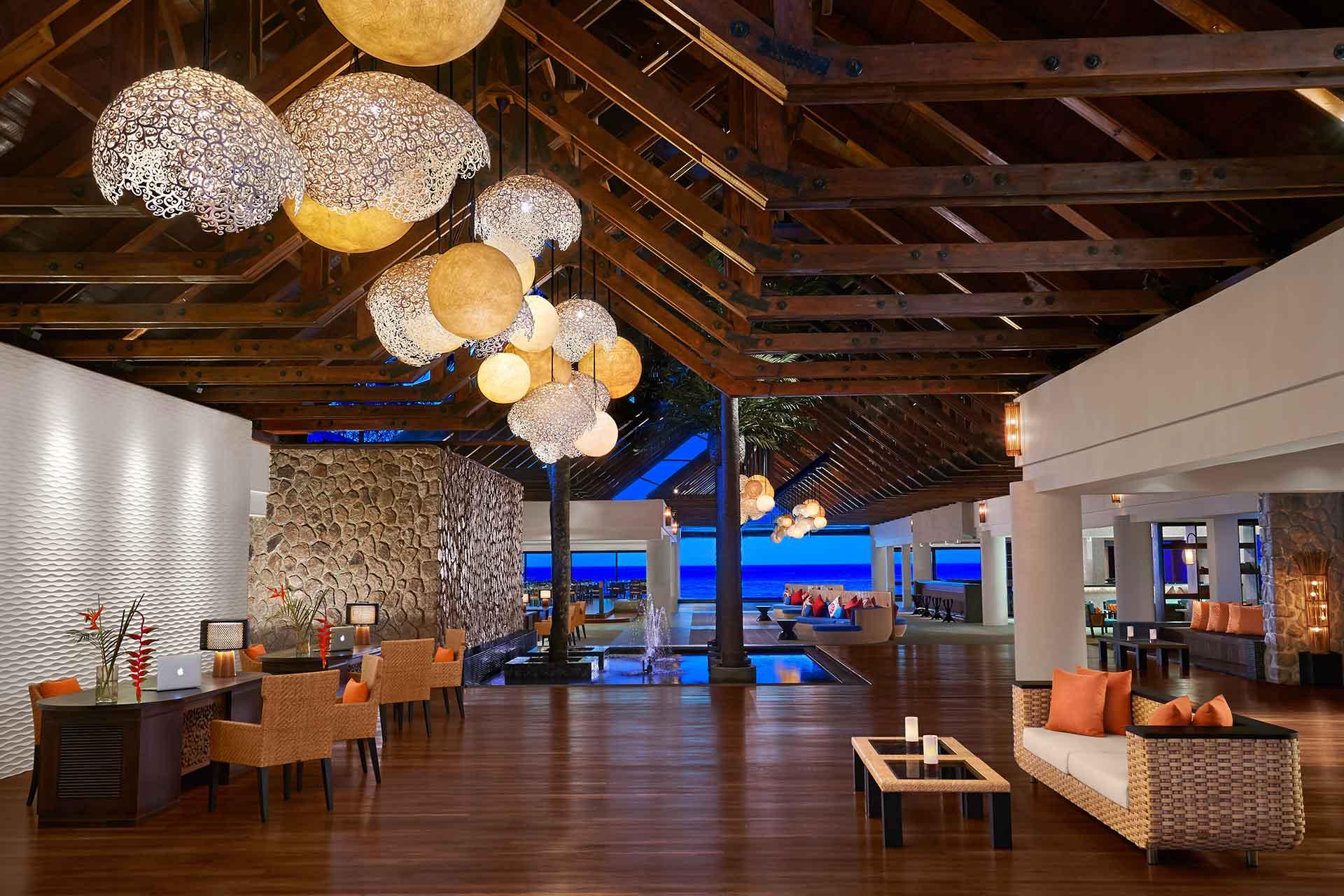AVANI Seychelles Barbarons lobby area