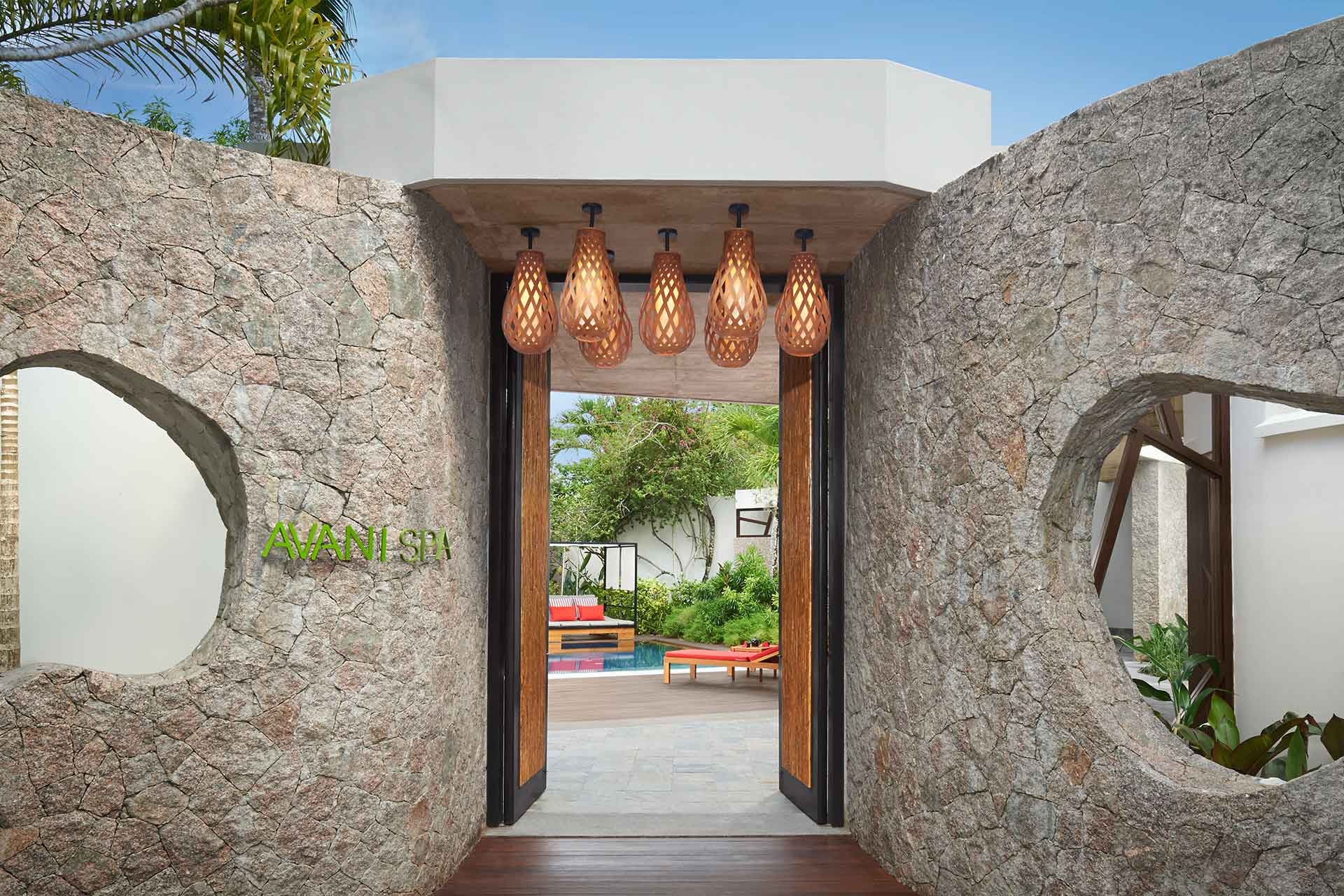 AVANI Seychelles's Spa entrance