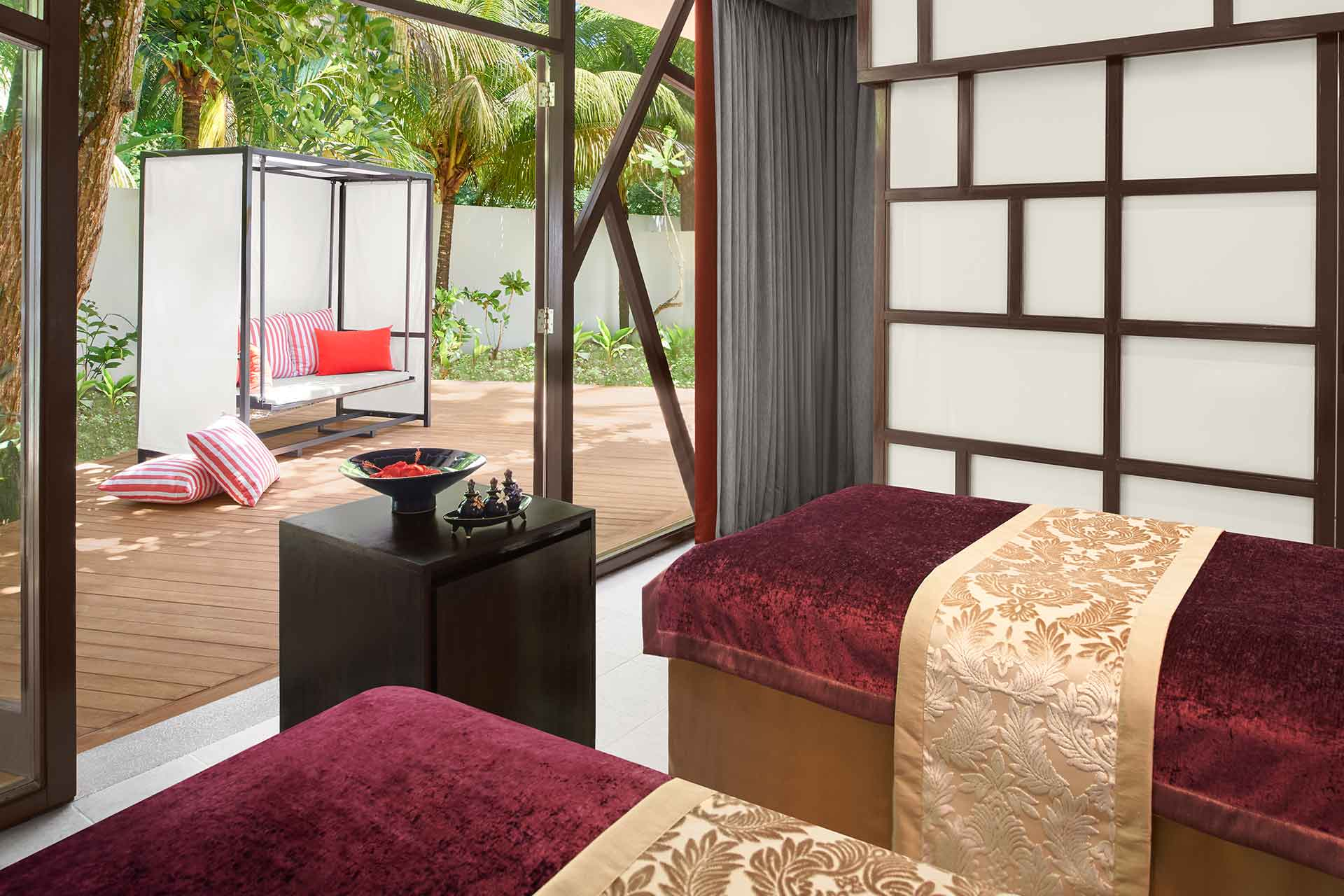 AVANI Spa Treatment room, Seychelles hotel images