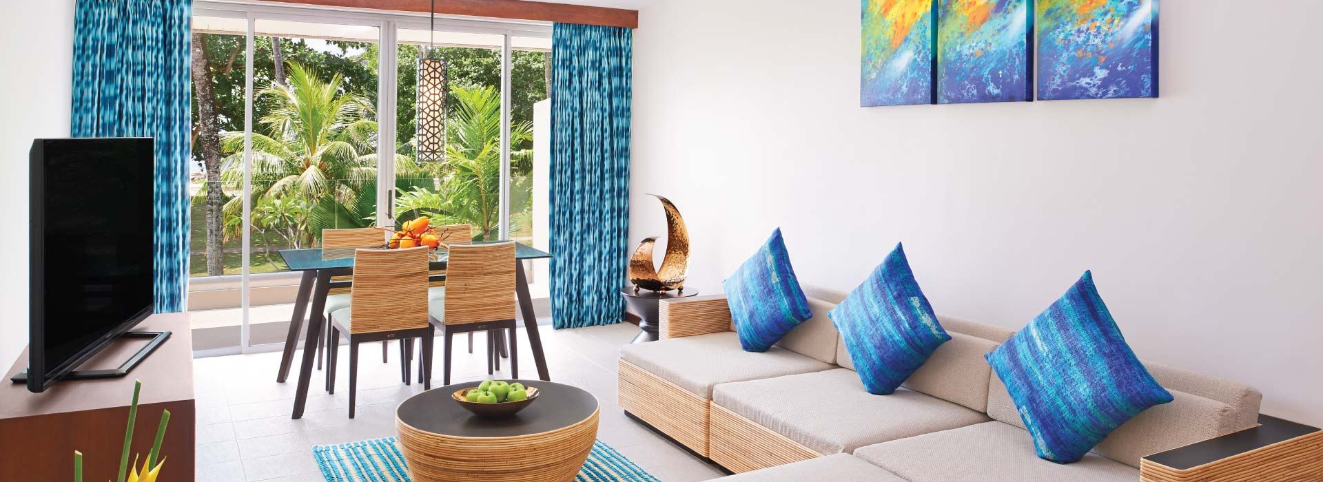 Ocean view suite at AVANI Seychelles beach resort