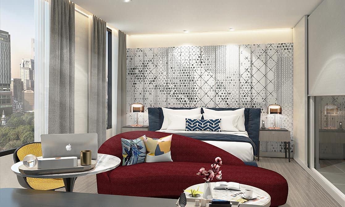 Avani Deluxe Room at Avani Sukhumvit Bangkok Hotel