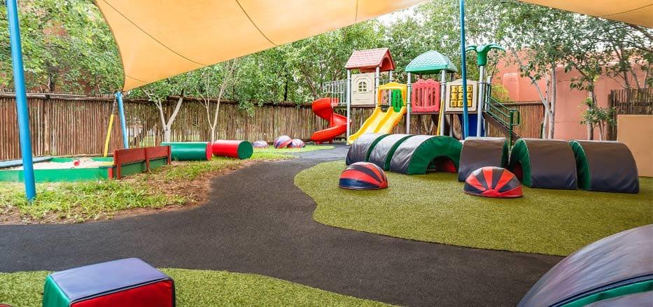 Kids Play area at AVANI Victoria Falls Resort kids club