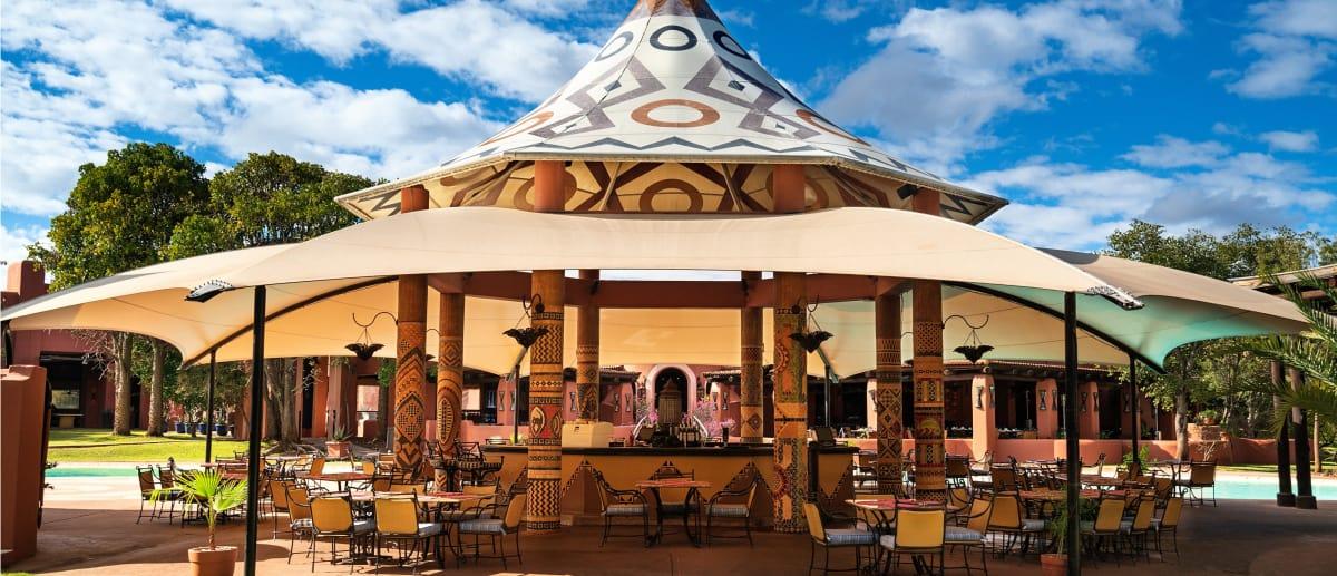 Pool side grill is among best Restaurants in Zambia
