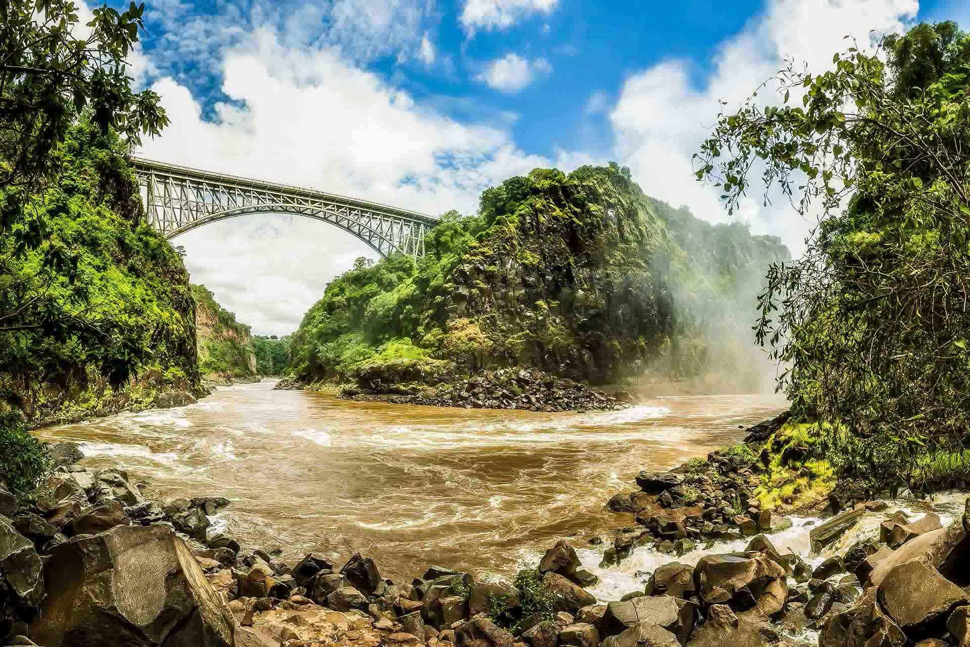 The famous bridge at AVANI Victoria falls