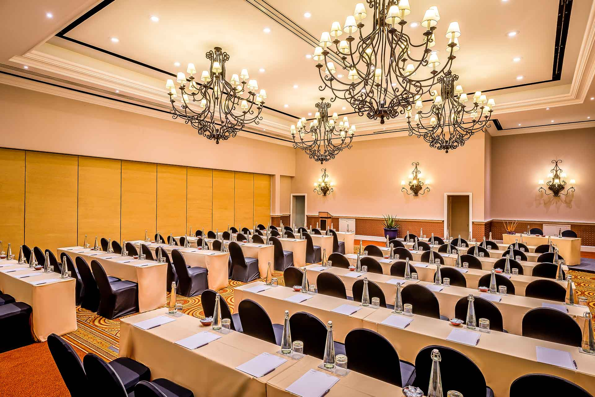 A meeting room at Zambezi Hotel