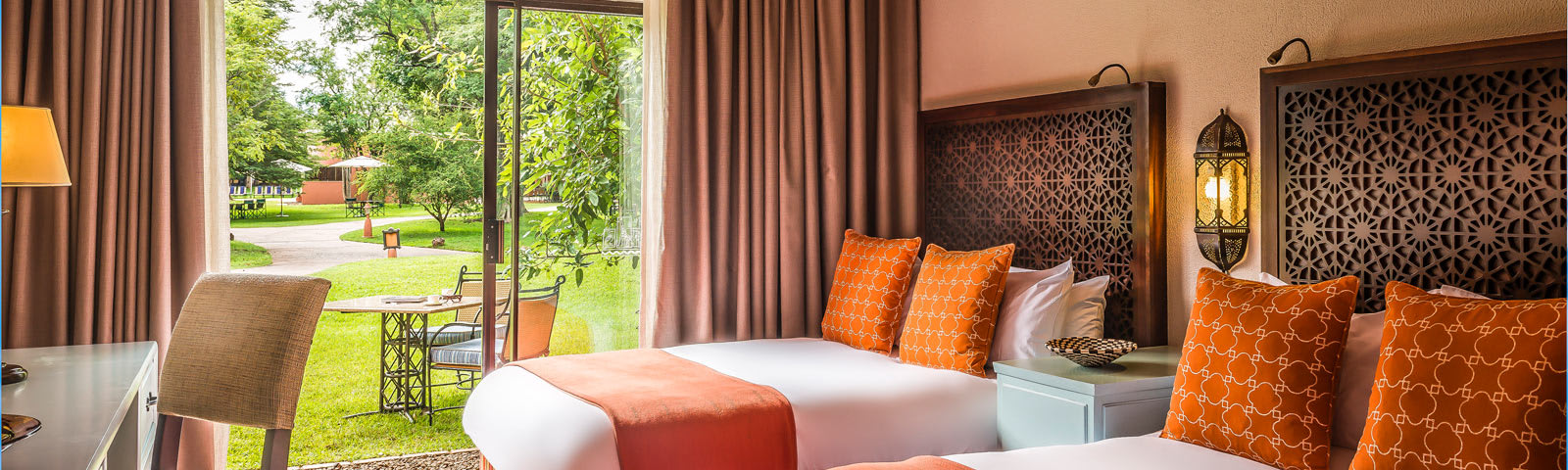 Interior of a room at AVANI Victoria Falls