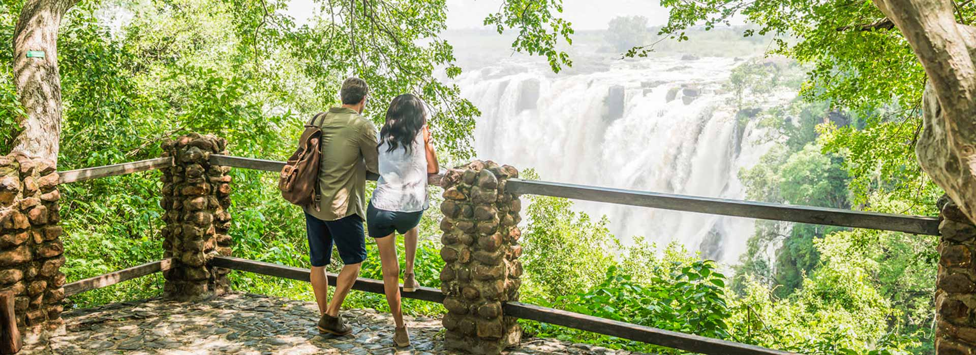 Visiting Victoria falls is among things to do in Zambia
