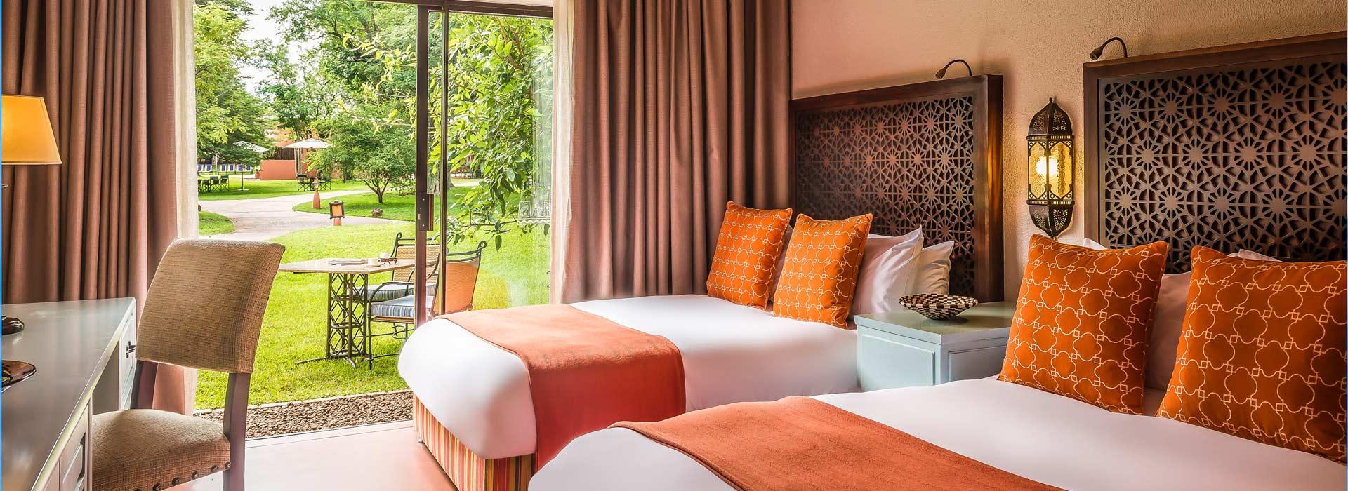 Luxury accommodation of Zambia Hotels near Victoria falls