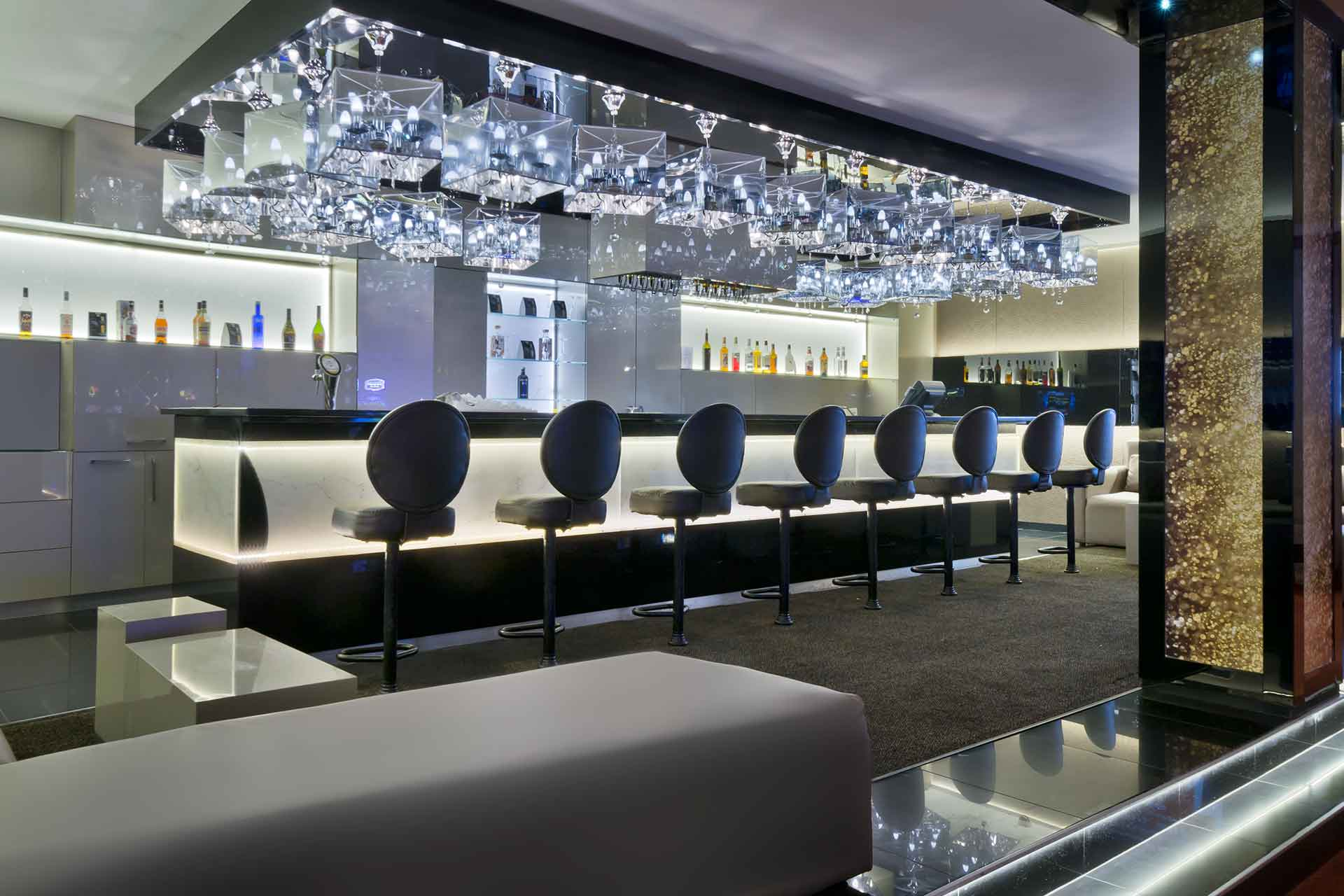 Interior of Oasis Bar and Lounge, AVANI Windhoek Hotel
